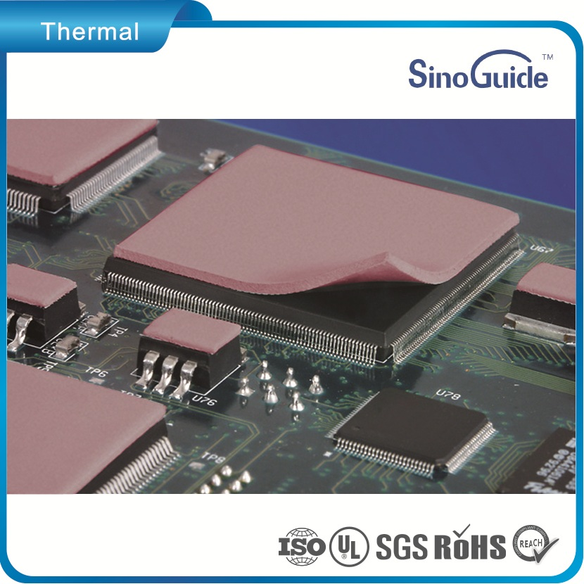 High Heat Conductivity Thermal Conductive Electrical Insulating Soft Pad