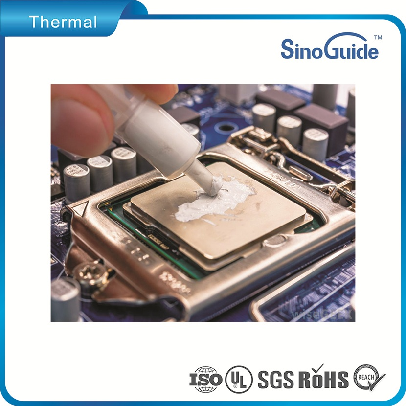 Good Thixotropism Thermal Putty/Gel Applied In PCB